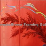 Original Arwork for Sale at Campbelltown Framing Gallery red bush