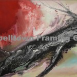 Original Arwork for Sale at Campbelltown Framing Gallery red black