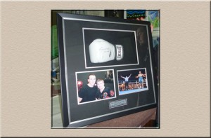 Boxing Memorabilia at Campbelltown Framing Gallery