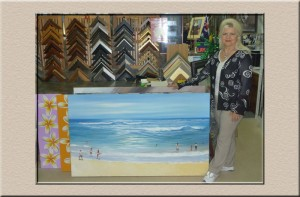 original art at Campbelltown Framing Gallery
