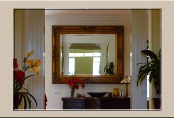 custom made mirrors at Campbelltown Framing Gallery