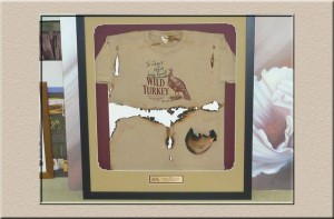 Wild Turkey Shirt at Campbelltown Framing Gallery